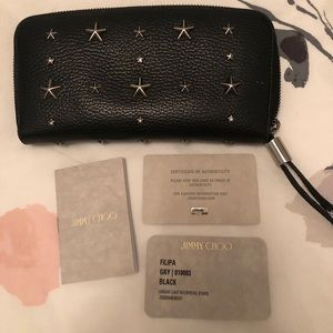 Authentic Jimmy Choo Wallet